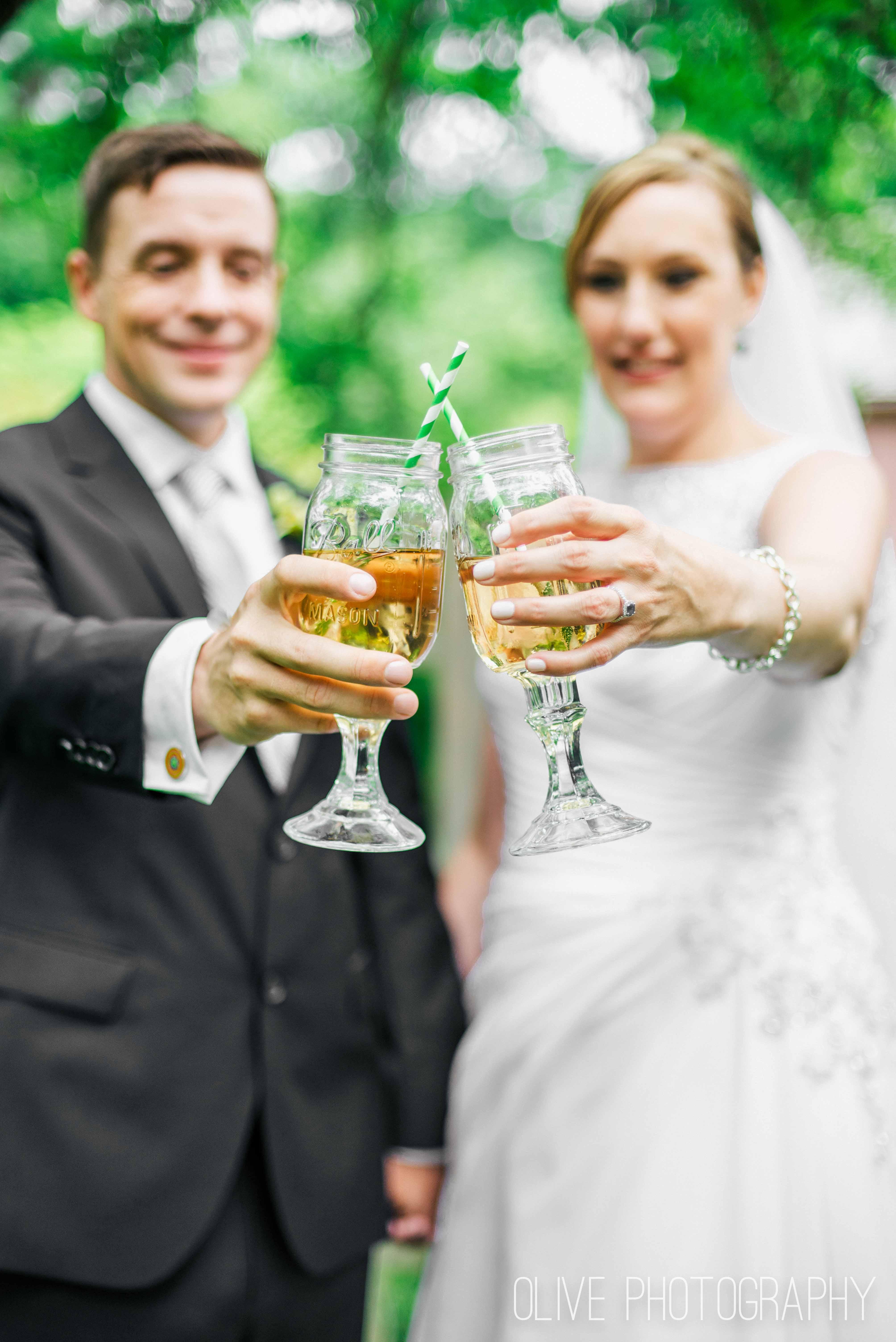Fantasy Farm wedding photos