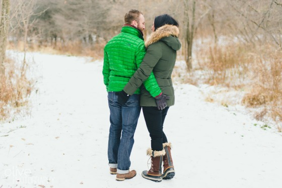 Toronto Winter Engagement - Sam Joe-27
