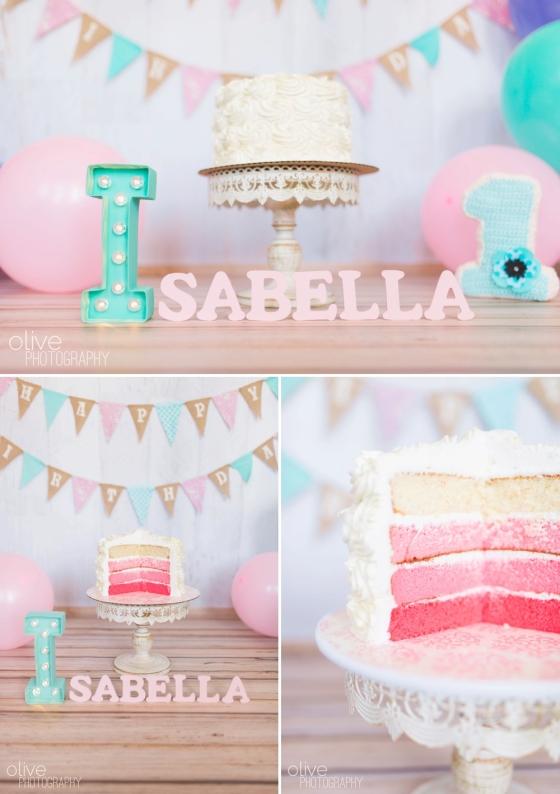 Toronto Family Photographer - Olive Photography - Isabella Cake Smash_0147
