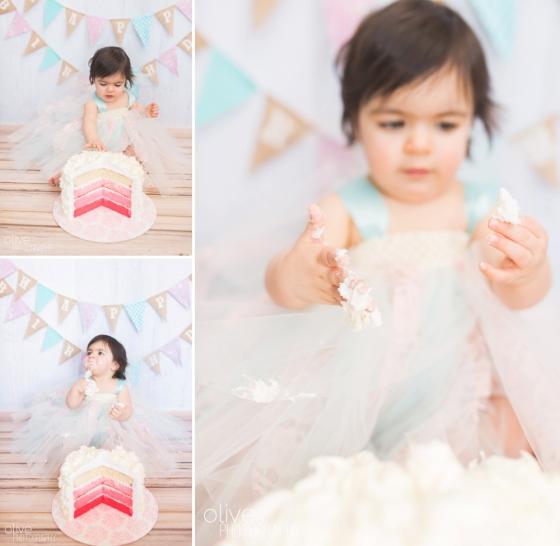 Toronto Family Photographer - Olive Photography - Isabella Cake Smash_0148