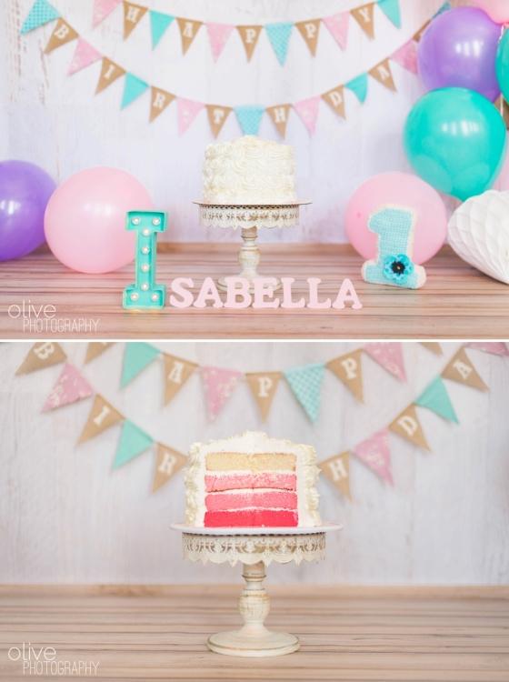 Toronto Family Photographer - Olive Photography - Isabella Cake Smash_0155